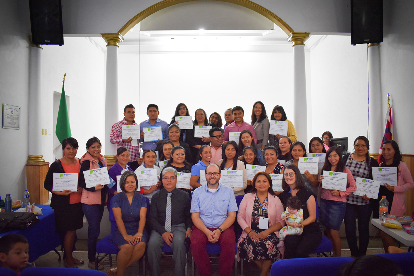 "25 Ministers Complete ""Train the Trainers"" in Mexico"