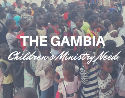 COGOP Gambia Highlights Children Ministry