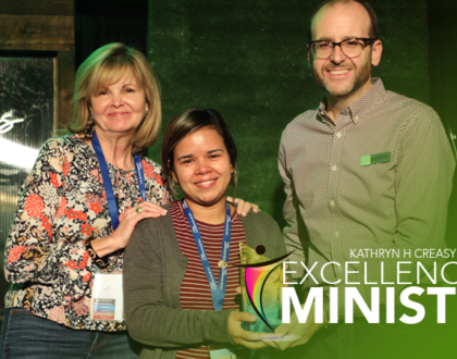 "CM Presents First ""Kathryn H. Creasy Excellence in Ministry Award"""