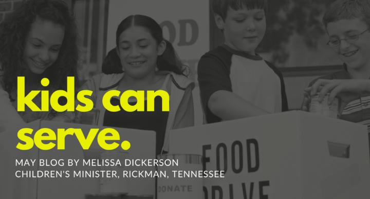 Kids Can Serve…
