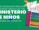 Cómo debemos resumir nuestros servicios del Ministerio de Niños después de COVID-19
