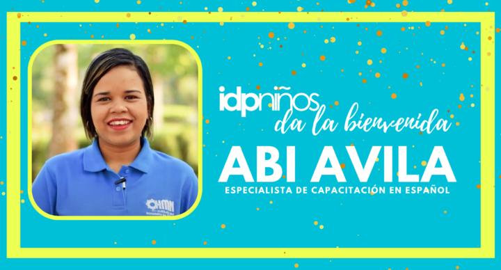 Bienvenida a Abi Ávila como especialista de capacitación en español