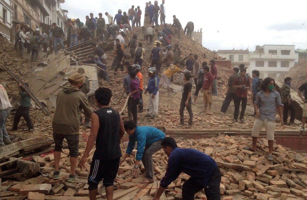 Nepal Crisis Relief Effort
