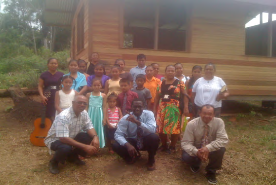 New Church Opened, Vision for Church Planting in Guyana