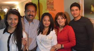 National Overseer, Benjamin Aldana and Family