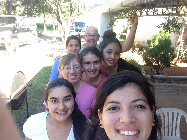 Local Churches Visit, Support Work in Paraguay