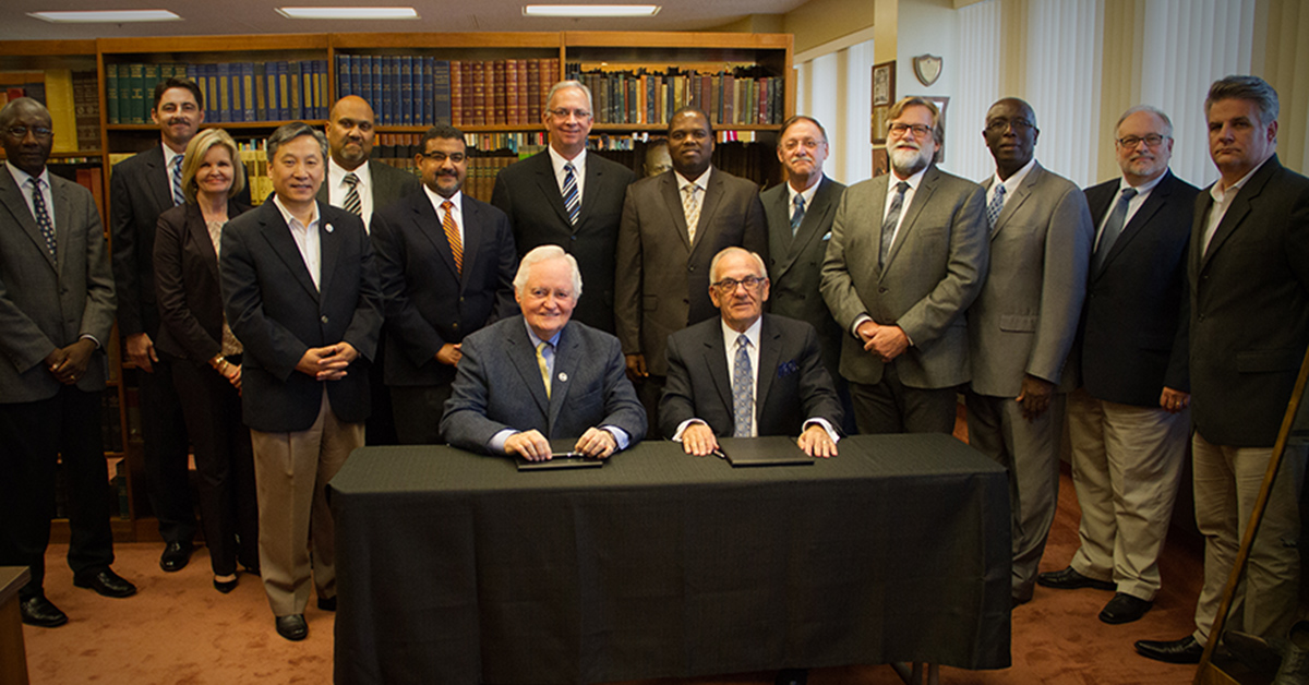 Church of God of Prophecy Signs Agreement with Pentecostal Theological Seminary