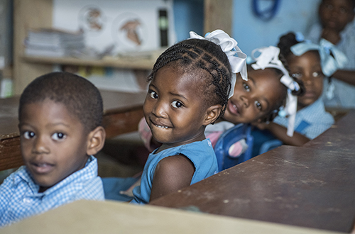 Kindergarten Building Dedicated at Haiti Orphanage