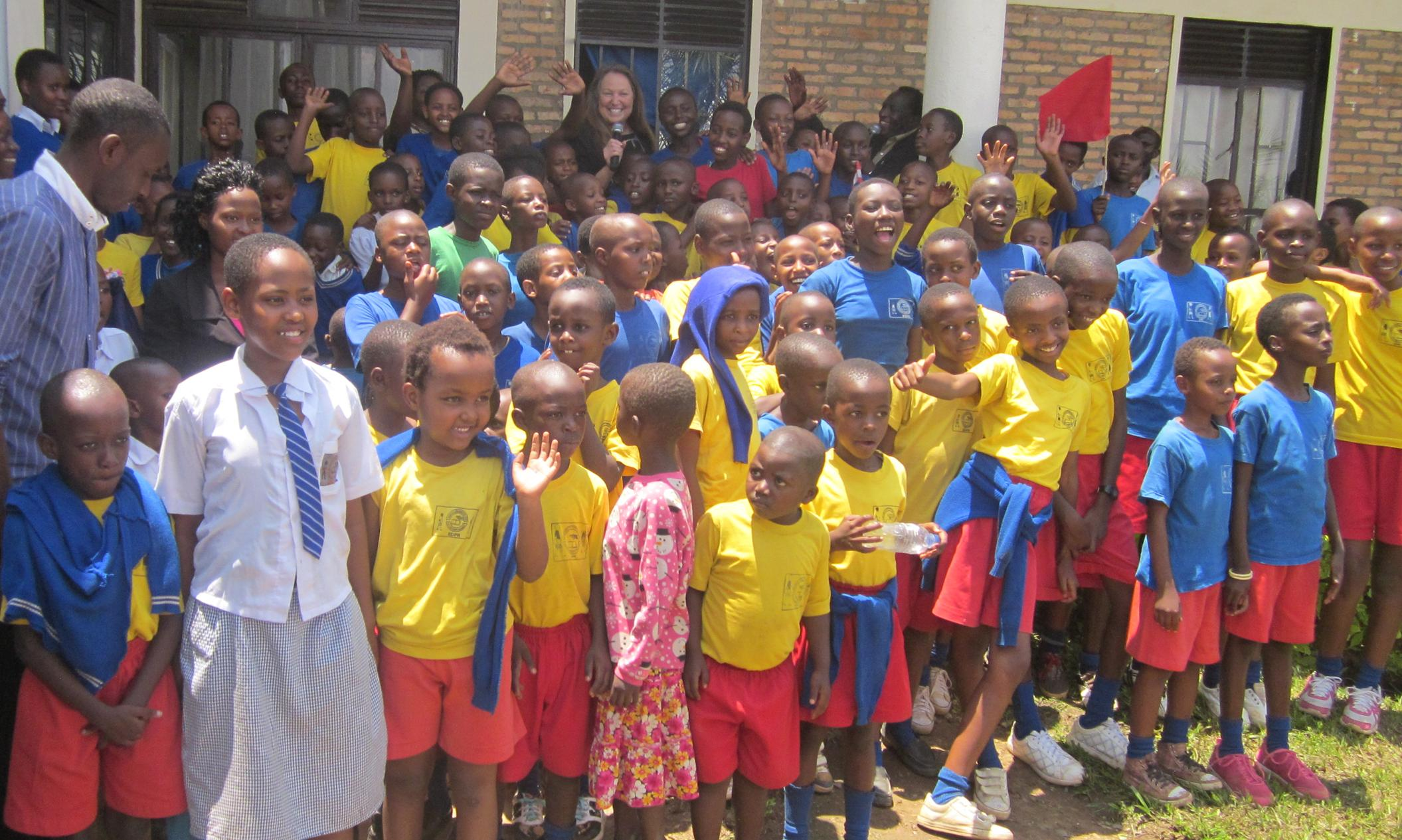 Dedication of the Children's Home in Rwanda