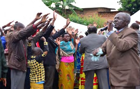 500 Baptized in Holy Spirit at Rwanda National Convention