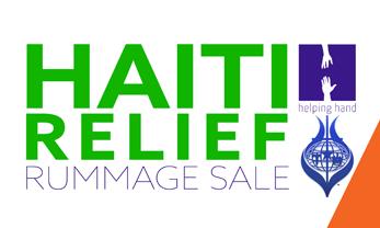 Haiti Relief Rummage Sale