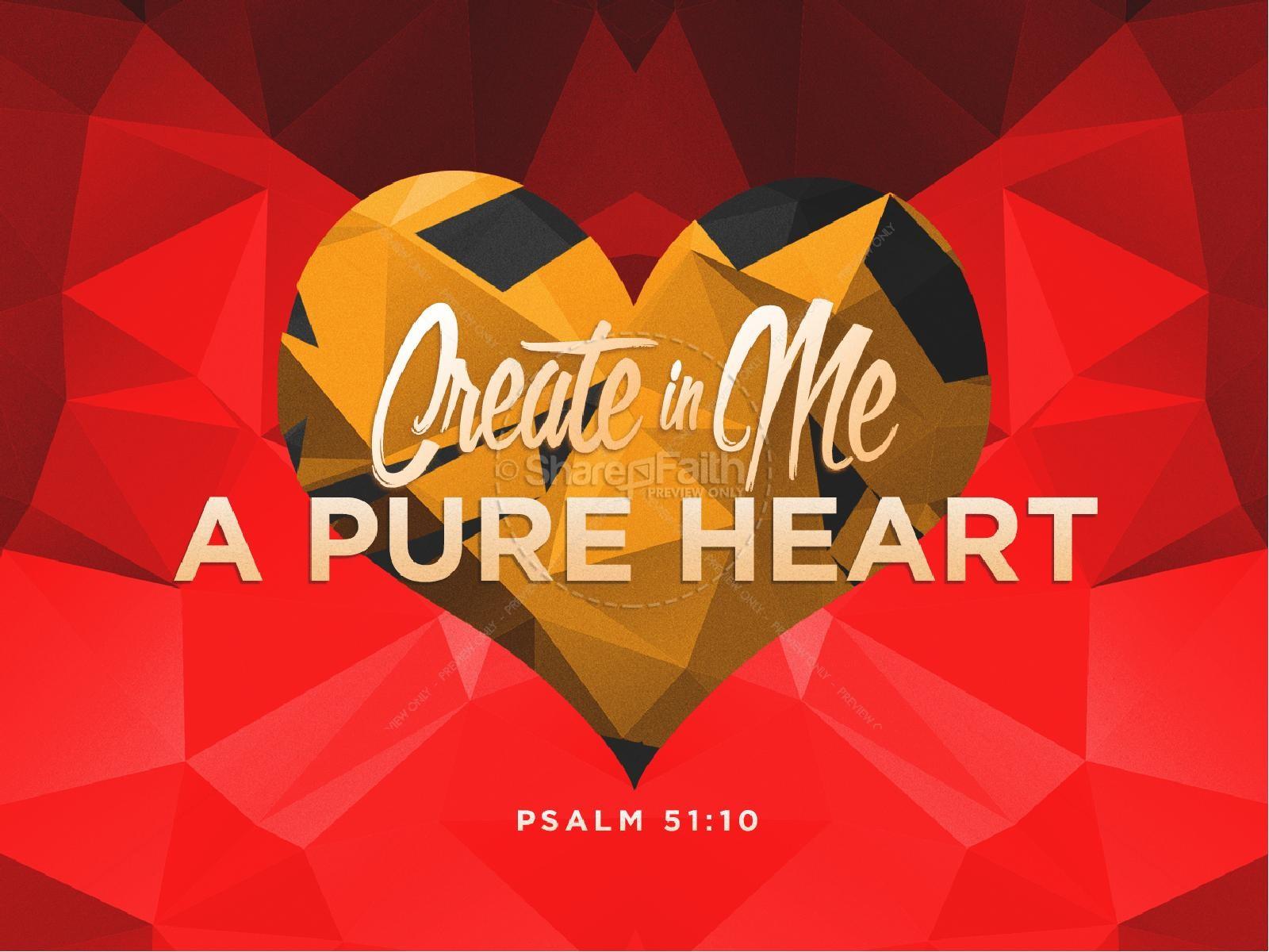 MAKE MY HEART PURE!