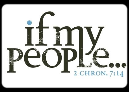 IF MY PEOPLE…!