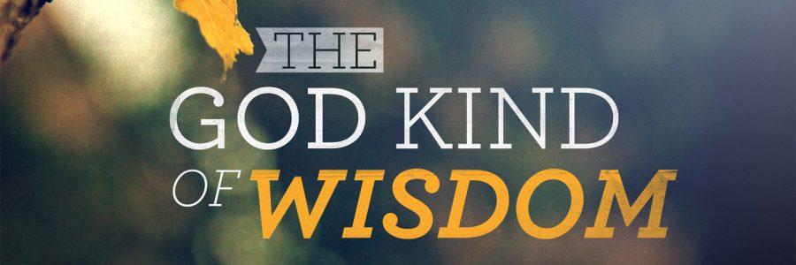 THE POWER OF WISDOM…