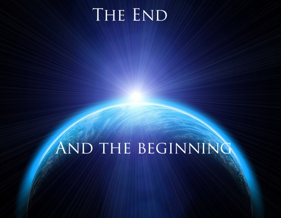 the ends of beginnings Death becomes dead, dieing becomes death, and becomes dead time kills  everything and began at the big bang time doesnt have an end that we know of.